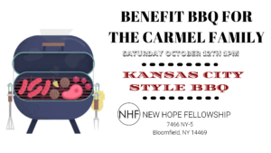 Benefit BBQ For the Carmel Family @ New Hope Fellowship
